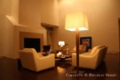 Living Room in Architect Frank Welch Designed Home
