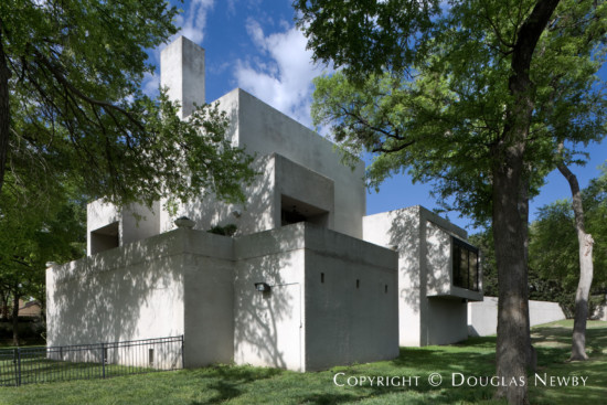 Modern Estate Home Designed by Architect Frank Welch - 5629 Bent Tree Drive