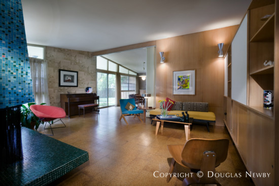 Significant Mid-Century Modern Residence Designed by Architect William Benson - 5848 Colhurst Street