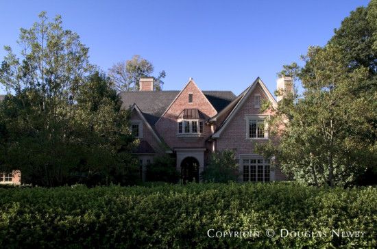 Estate Home Designed by Architect Robbie Fusch - 5440 North Dentwood Drive