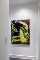 Painting on Display in Modern Dallas Home - 2013 Spring Collection