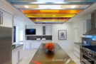 Old Highland Park Kitchen with Modern Art - 2013 Spring Collection