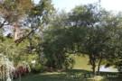 Creek Beside Garden on Property of Architect Gary Cunningham Designed Home