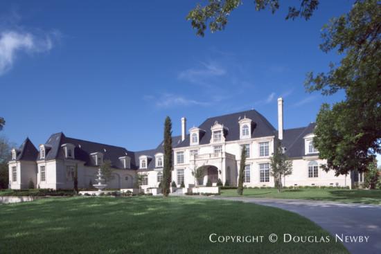 Formal French Estate Home Designed by Architect Robbie Fusch - 10711 Strait Lane