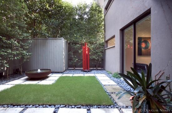 Modern Home Designed by Architect Lionel Morrison - 4331 Travis Street