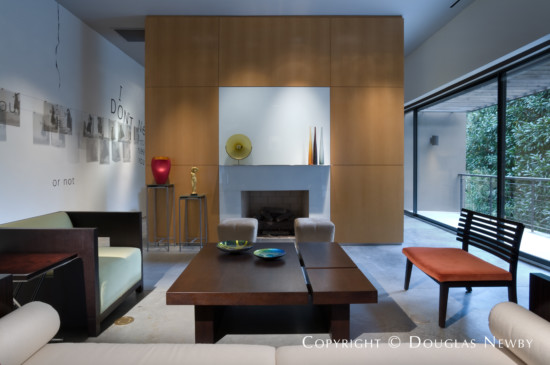 Residence Designed by Architect Lionel Morrison - 4335 Travis Street