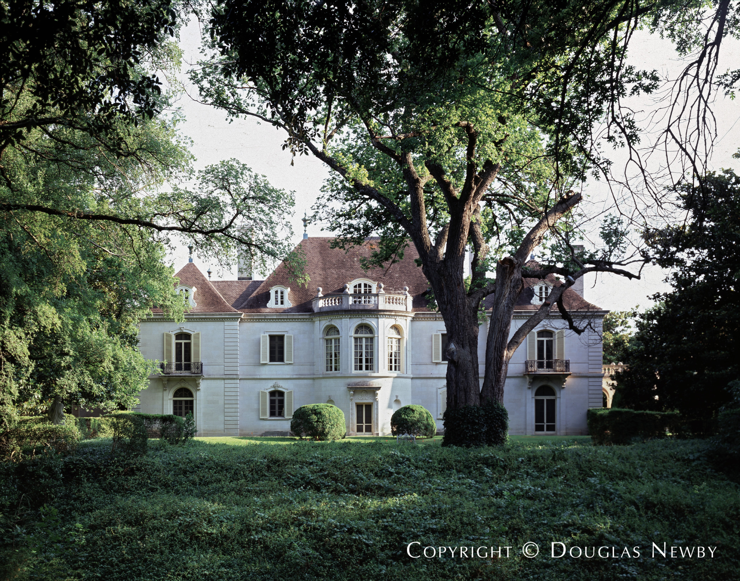 French Chateau Real Estate in Preston Hollow