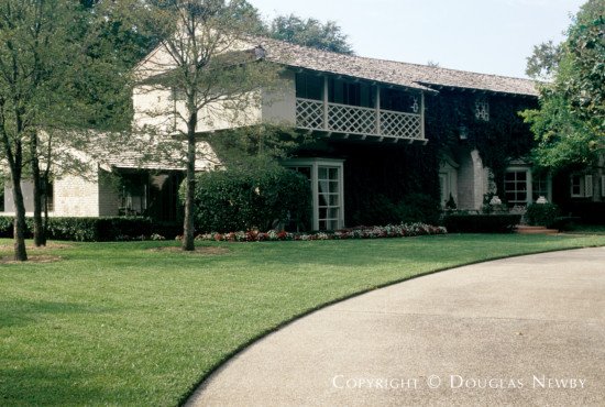 Significant Estate Home Designed by Architect Charles S. Dilbeck - 5310 Park Lane