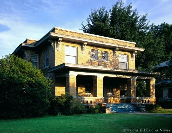 Italian Renaissance Residence Designed by Architect Charles D. Hill - 4938 Junius Street
