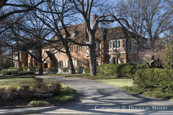 Significant Home Designed by Architect Greene, La Roche & Dahl - 6701 Turtle Creek Boulevard