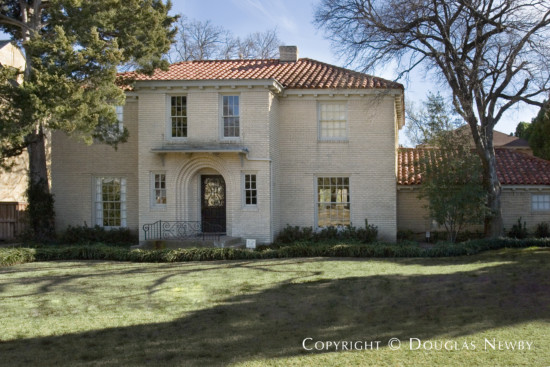Volk Estates Home Built in 1938 - 4057 Grassmere Lane, Dallas, Texas