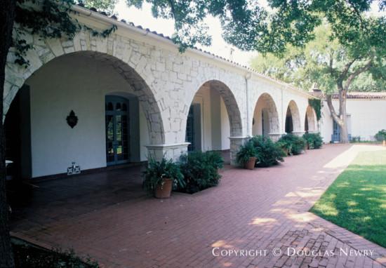 Significant Estate Home Designed by Architect Shutt & Scott - 8525 Garland Road