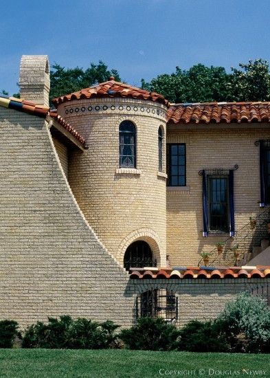Significant Spanish Colonial House Designed by Architect Clifford D. Hutsell - 7035 Lakewood Boulevard