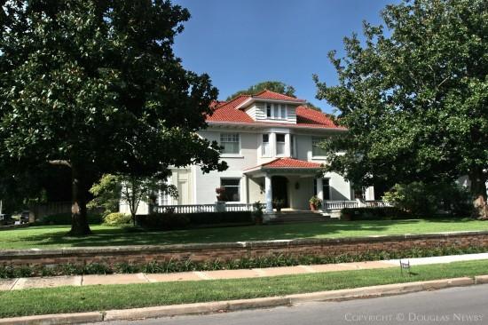 American Foursquare Home Designed by Architect Anton Korn - 3601 Crescent Avenue