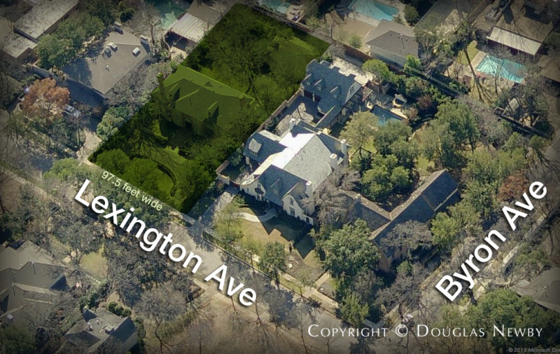 Highland Park Lot for Sale in Dallas, Texas - .428 Acres in Old Highland Park