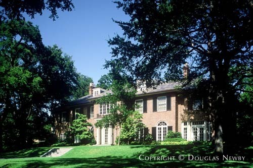Georgian Real Estate Designed by Architect Henry B. Thomson - 4324 Saint Johns Drive