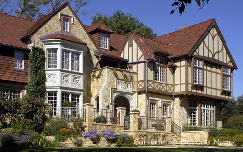 English Home Designed by Architect Richard Drummond Davis - 3637 Stratford Avenue