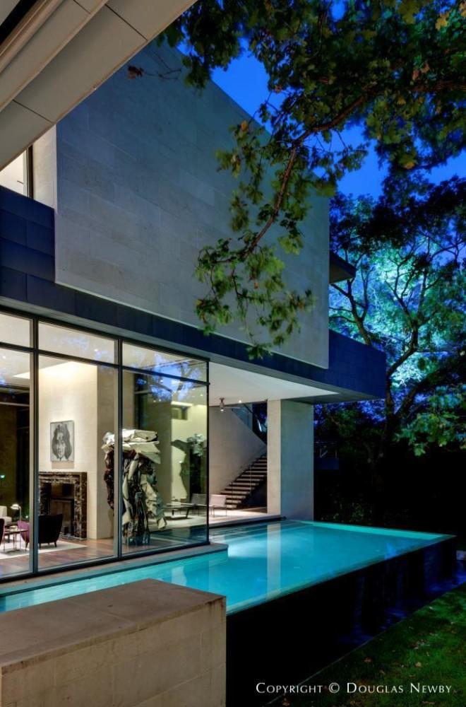 Dallas Modern Home Built by Sebastian Construction Group