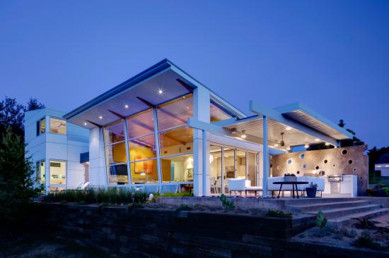 Architect Mark Domiteaux Designed Modern Home in Kessler Woods in 2013