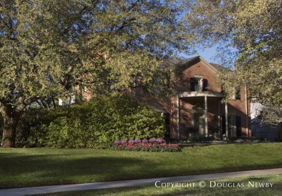House Designed by Architect Hal O. Yoakum - 4205 Arcady Avenue