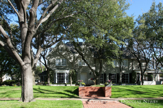 Residence Designed by Architect Clyde H. Griesenbeck - 4222 Arcady Avenue