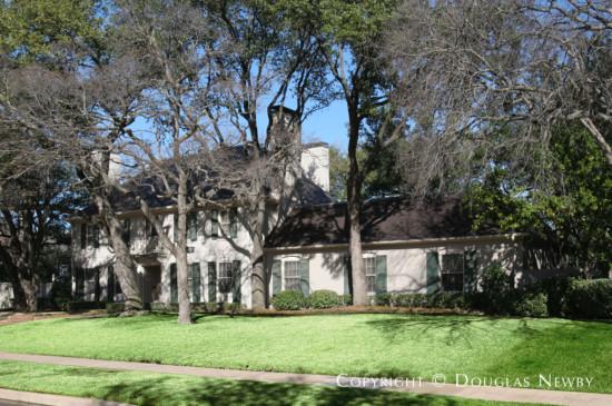 Residence Designed by Architect Fonzie E. Robertson - 4218 Arcady Avenue