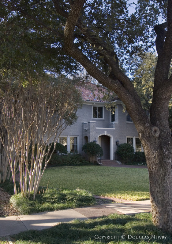 John. D. Carsey Designed Home in Third Section of Highland Park West of Preston