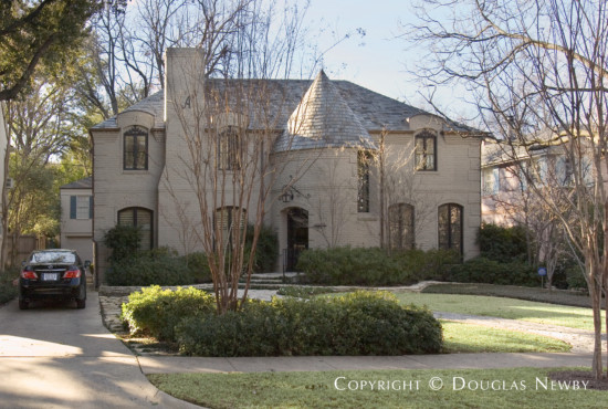 Home Designed by Architect Charles A. Barnett - 4327 Versailles Avenue
