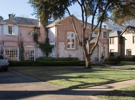 Home Designed by Architect Charles A. Barnett - 4331 Versailles Avenue
