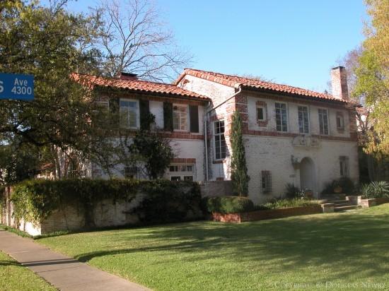 House Designed by Architect Greene, La Roche & Dahl - 4301 Versailles Avenue