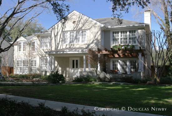Home Designed by Architect Charles A. Barnett - 4504 Beverly Drive