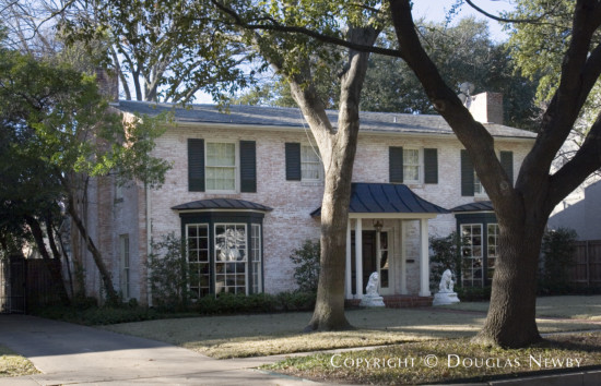 Home Designed by Architect Beryl C. Stegall - 4521 Beverly Drive
