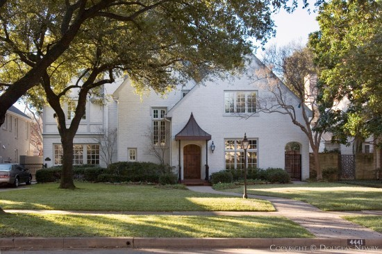 Home Designed by Architect Charles A. Barnett - 4441 Beverly Drive