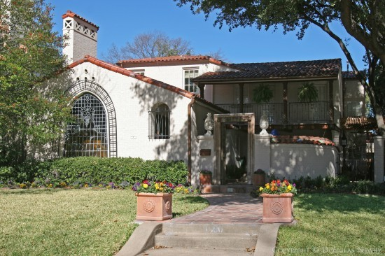 Home Designed by Architect Clifford D. Hutsell - 4500 Arcady Avenue