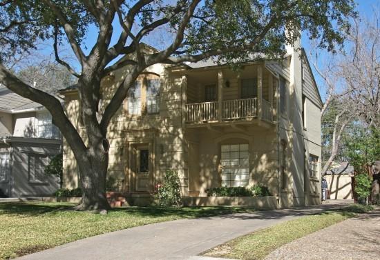 Residence Designed by Architect Charles A. Barnett - 4506 Arcady Avenue