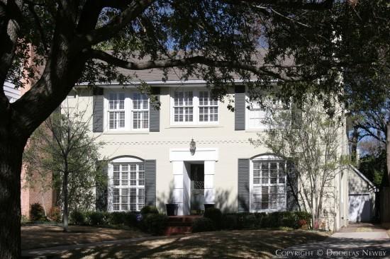 Home Designed by Architect Charles A. Barnett - 4524 Arcady Avenue