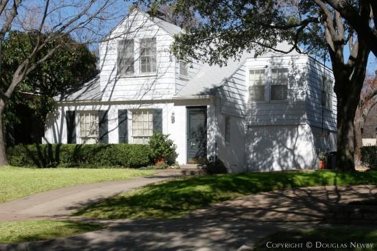 Home Designed by Architect Luther E. Sadler - 4564 Arcady Avenue