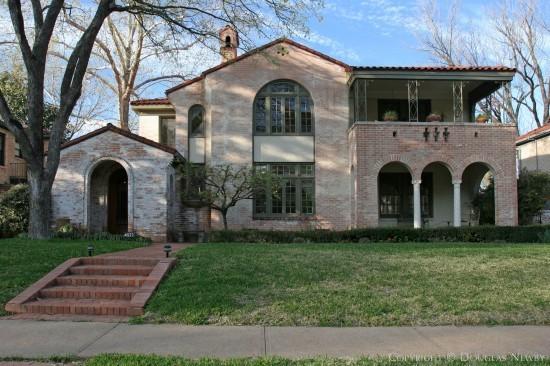 Home Designed by Architect Verne E. Shanklin - 4522 Fairway Avenue