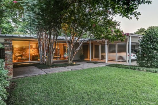 Midcentury Modern Home in Greenway Parks