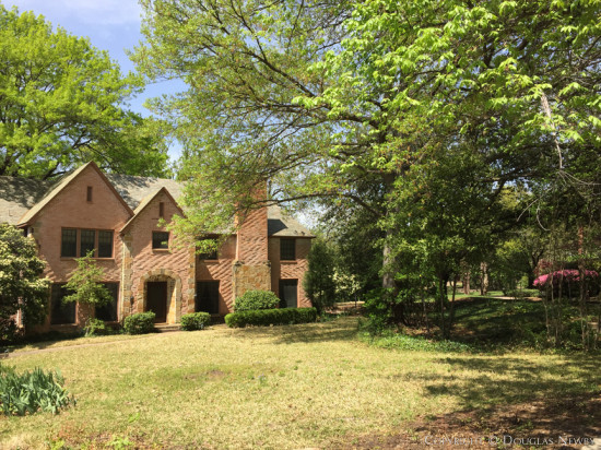 Period Park Cities Home on .57 Acres