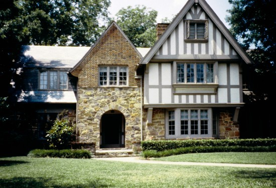 Residence Designed by Architect Anton Korn - 3900 Potomac Avenue