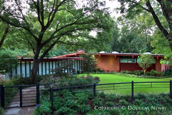 Midcentury Modern Home in Dallas