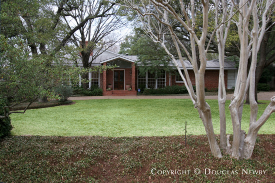 Estate Home Designed by Architect O'Neil Ford - 5311 Falls Road