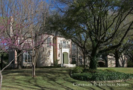 House Designed by Architect Wilson Fuqua - 4931 Wedgewood Lane