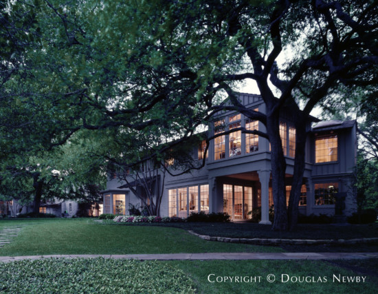 Estate Home Designed by Architect Charles S. Dilbeck - 5500 Chatham Hill Road