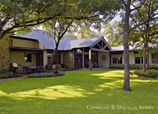 Home Designed by Architect Richard Drummond Davis - 4610 Bluffview Boulevard