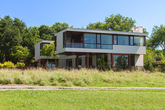 Bodron+Fruit Designed Home at 9132 East Lake Highlands Drive, Dallas, Texas