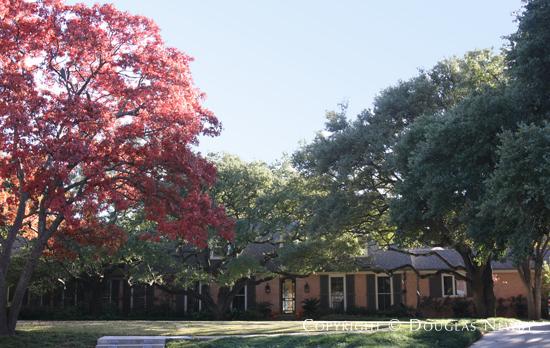 George Bush's New Home in Preston Hollow - 10141 Daria Place