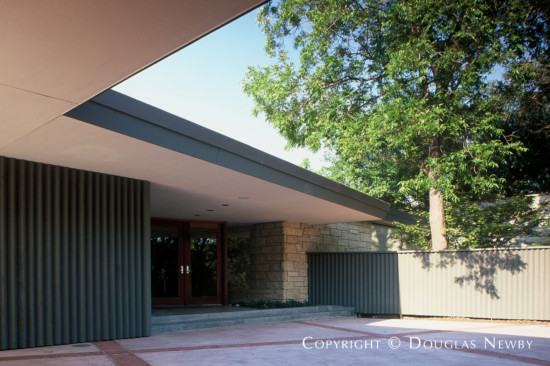 Mid-Century Modern Home Designed by Architect Alfred T. Gilman - 10010 Gaywood Road