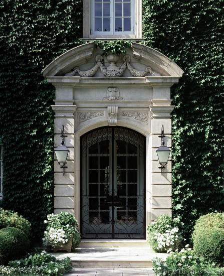 Significant Neo-Classical Estate Home Designed by Architect John Scudder Adkins - 6801 Turtle Creek Boulevard